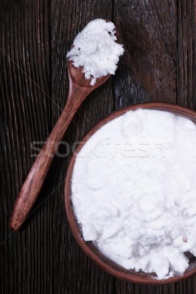 Soda çanak tablo arka plan tıp Stok fotoğraf © tycoon