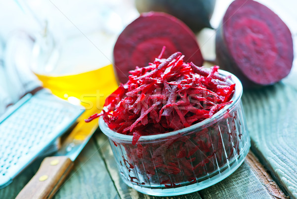 grated beet Stock photo © tycoon