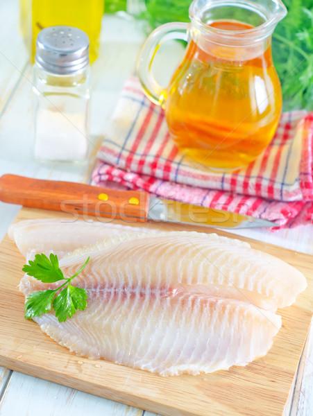 raw fish Stock photo © tycoon