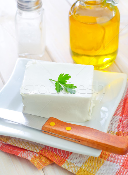 white cheese Stock photo © tycoon