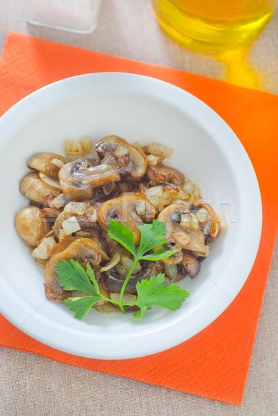 Champignon natuur achtergrond kok eten Stockfoto © tycoon