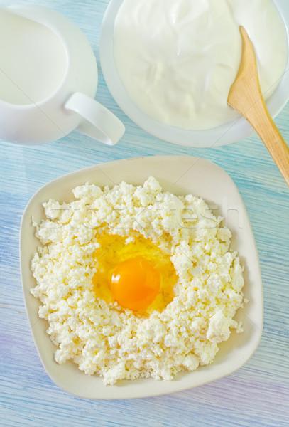 Domek jaj śmietana żywności zdrowia jaj Zdjęcia stock © tycoon