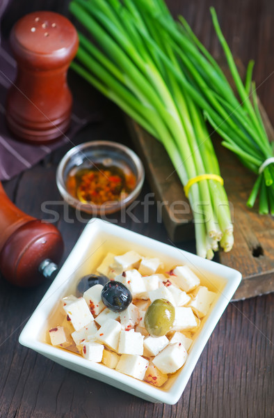 cheese in bowl Stock photo © tycoon
