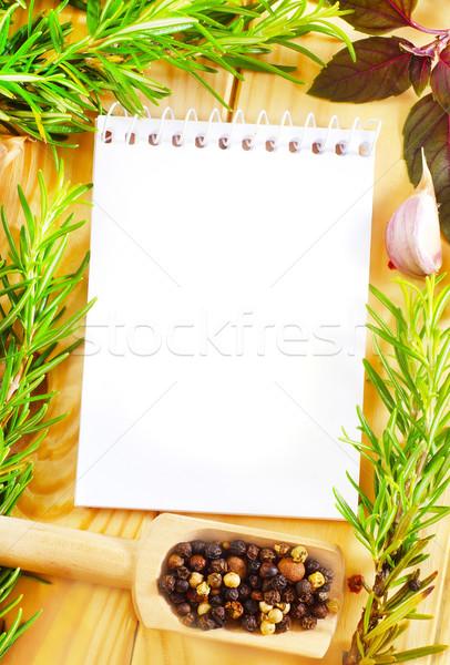 сведению аромат Spice жизни Vintage перец Сток-фото © tycoon