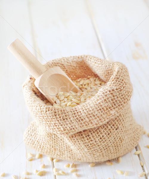 Pérola cevada fazenda alimentação cozinhar cozinhar Foto stock © tycoon