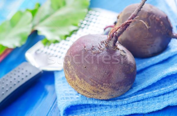 raw beet Stock photo © tycoon