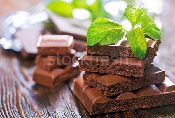 chocolate Stock photo © tycoon