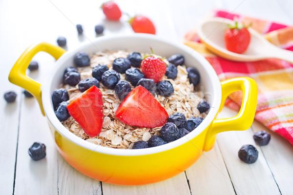 Haver vruchten kom vruchten achtergrond Stockfoto © tycoon