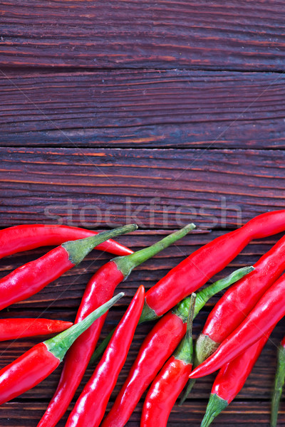 chilli peppers Stock photo © tycoon