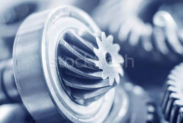 メカニカル 作業 背景 金属 グループ 業界 ストックフォト © tycoon