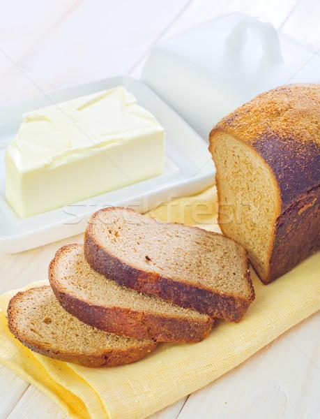 масло хлеб десерта свежие Sweet хлебобулочные Сток-фото © tycoon