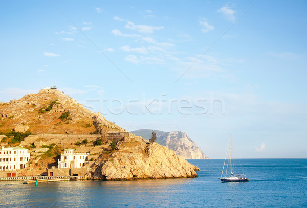 sea and mountain in Crimea Stock photo © tycoon