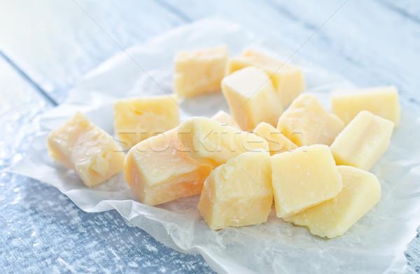 пармезан древесины кухне сыра молоко приготовления Сток-фото © tycoon