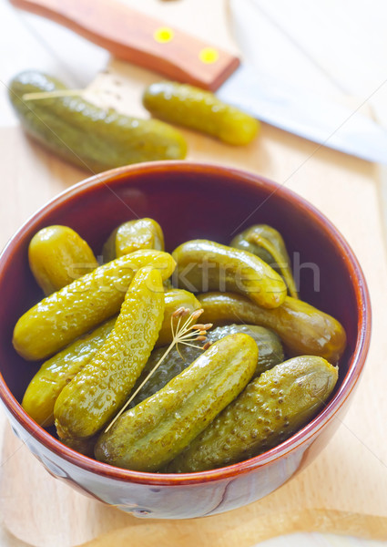 pickled Stock photo © tycoon