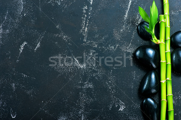 basalt and bamboo Stock photo © tycoon
