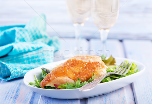 Stock photo: chicken