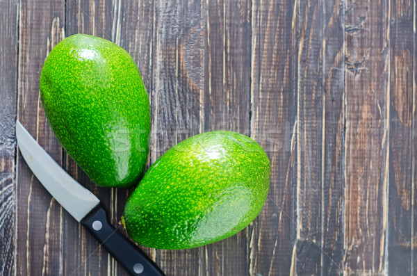 fresh avocado Stock photo © tycoon