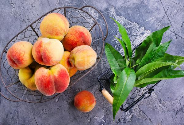 peach Stock photo © tycoon
