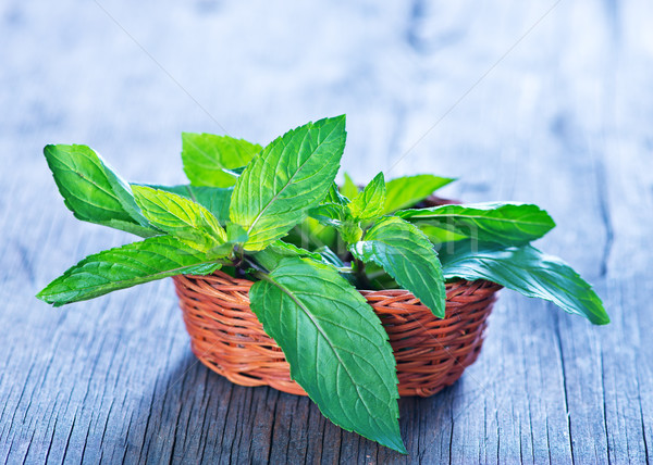 fresh mint Stock photo © tycoon