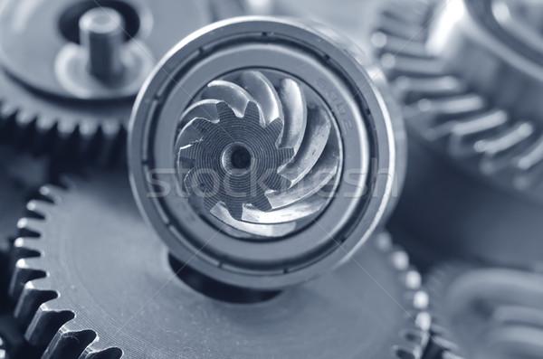 Technologie énergie machine acier engins moteur Photo stock © tycoon