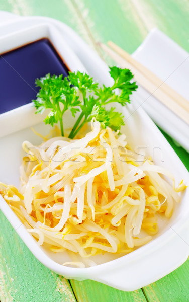 sprouts and soy sauce Stock photo © tycoon