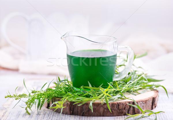 Drinken shot tabel voorraad foto partij Stockfoto © tycoon
