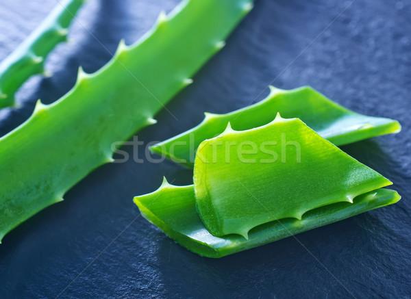 Víz levél szépség zöld gyógyszer fekete Stock fotó © tycoon
