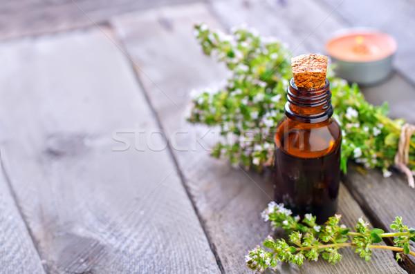 аромат нефть природы стекла саду здоровья Сток-фото © tycoon