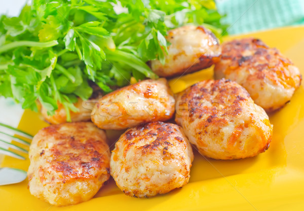 Gıda ev turuncu et beyaz havuç Stok fotoğraf © tycoon
