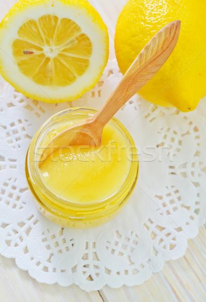 Méz citromok fa természet gyümölcs búza Stock fotó © tycoon