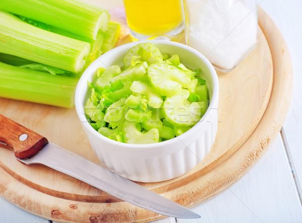 Zeller természet egészség zöld szín növény Stock fotó © tycoon