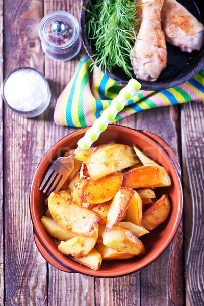 домашний продовольствие свежие обед Сток-фото © tycoon
