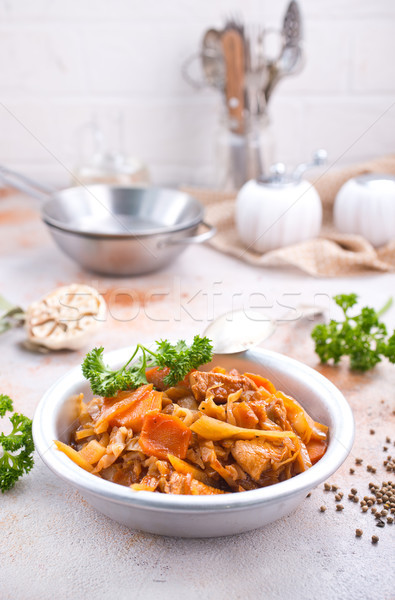 Cabbage stew Stock photo © tycoon
