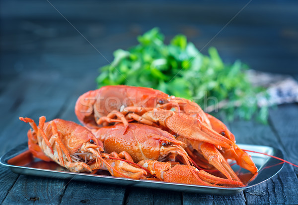 boiled cancer Stock photo © tycoon