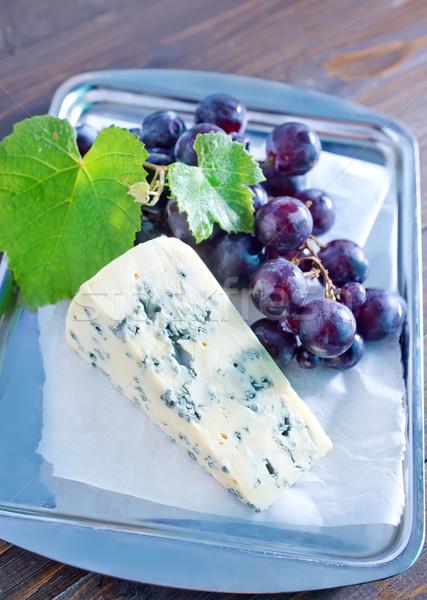チーズ ブドウ 食品 夏 ボード デザート ストックフォト © tycoon