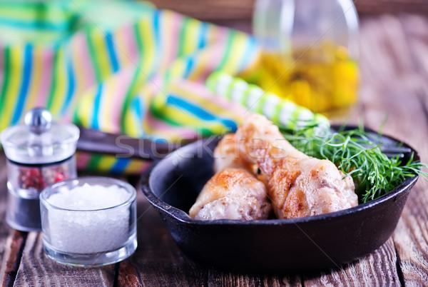 自家製 食品 新鮮な ランチ 木製 台所用テーブル ストックフォト © tycoon