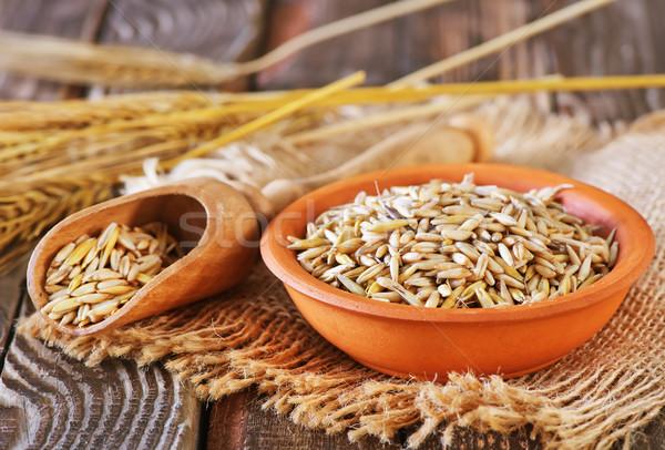 oat grain Stock photo © tycoon