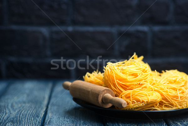 raw noodle Stock photo © tycoon