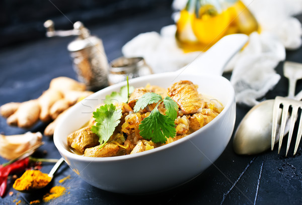 Curry of chicken Stock photo © tycoon