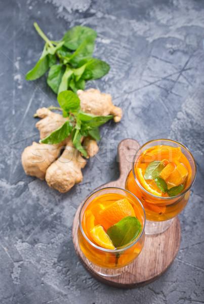 orange juice Stock photo © tycoon