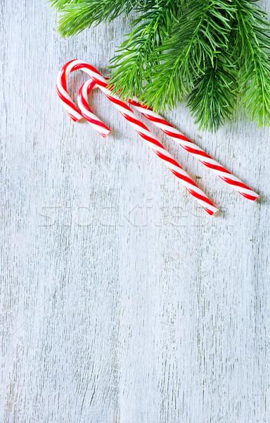クリスマス 装飾 キャンディ 幸せ 中心 背景 ストックフォト © tycoon