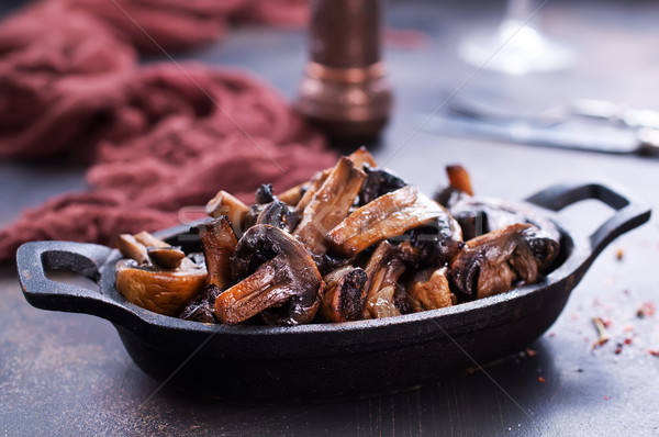 Frito setas setas sal especias alimentos Foto stock © tycoon
