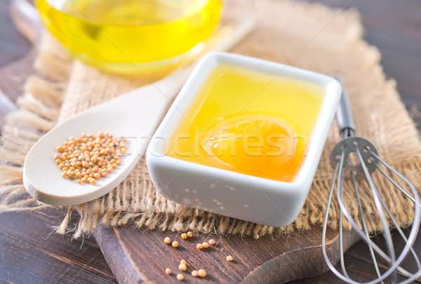 ingredients for mayonnaise Stock photo © tycoon