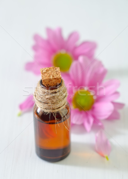 Lezzet yağ çiçekler tıbbi sağlık güzellik Stok fotoğraf © tycoon