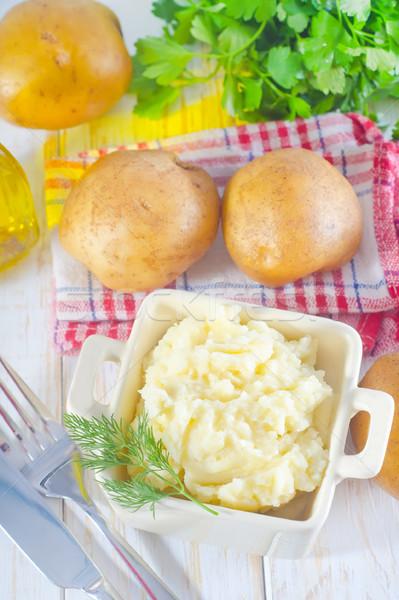 mashed potato Stock photo © tycoon
