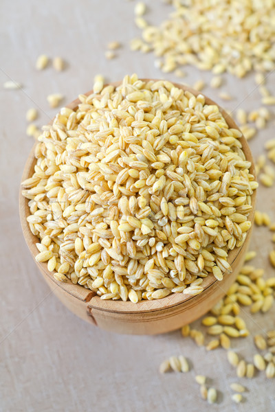 Buğday cam altın bitki beyaz arka Stok fotoğraf © tycoon