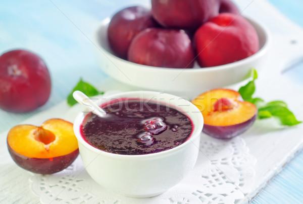 слива Jam саду лет таблице Сток-фото © tycoon