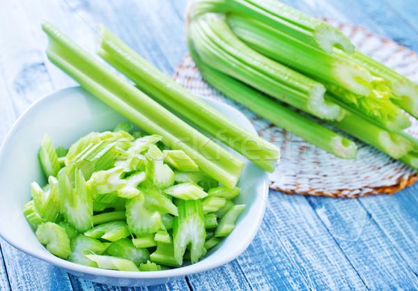 Zeller étel levél zöld szakács mezőgazdaság Stock fotó © tycoon