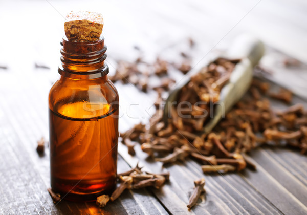 clove oil Stock photo © tycoon