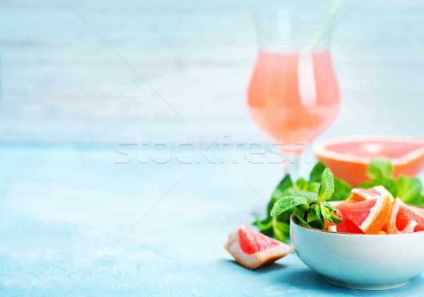 グレープフルーツ ジュース 新鮮な 表 フルーツ 健康 ストックフォト © tycoon